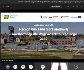Warsztat dla Zespołu Regionalnego dla inicjatywy regionów górniczych w województwie śląskim