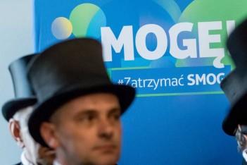 """Akcja """"Mogę zatrzymać smog"""" fot. arch. UMWS Tomasz Żak"""